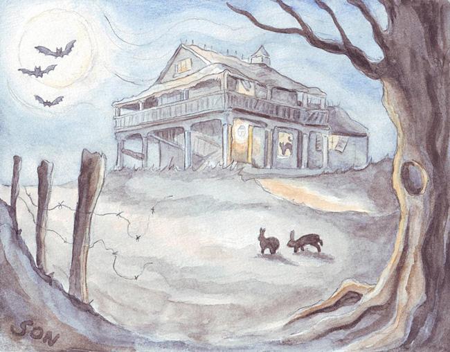 """""""halloween illustration"""""""